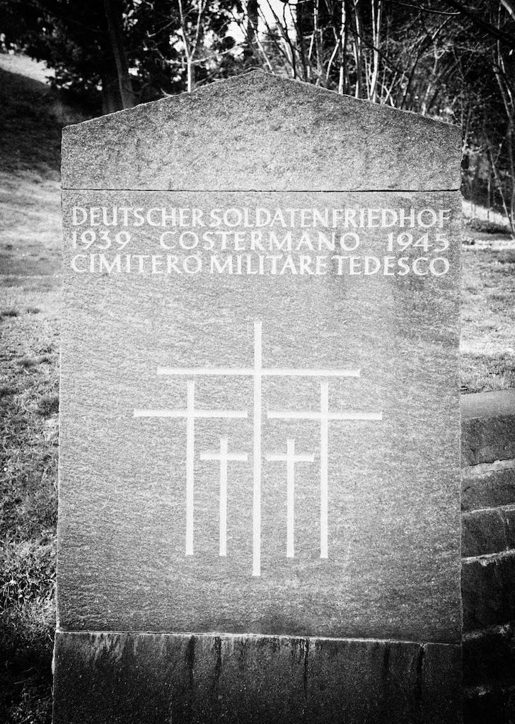 Cimitero militare tedesco di Costermano (2011)